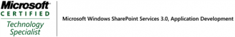 Microsoft Windows SharePoint Services 3.0, Application Development